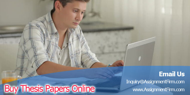 Buy thesis papers online