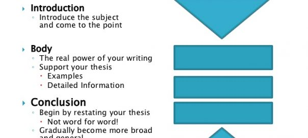 Model Essay Structure