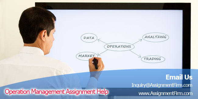 Operations management homework help