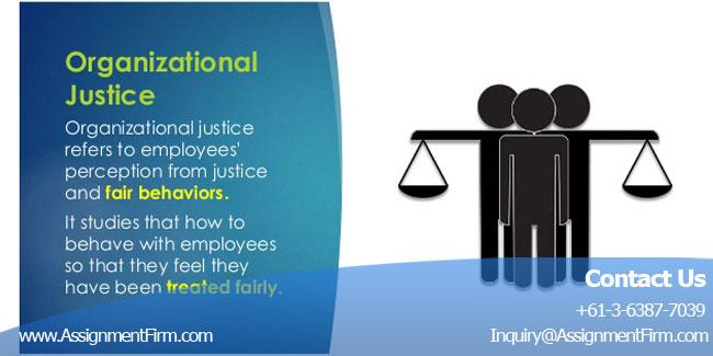 Organisational Justice
