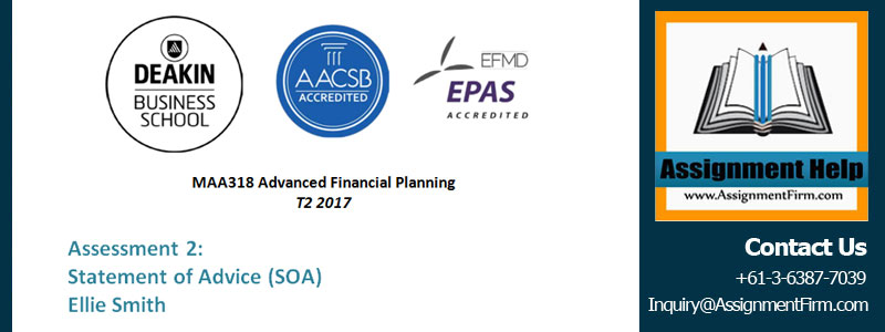 MAA318 Advanced Financial Planning