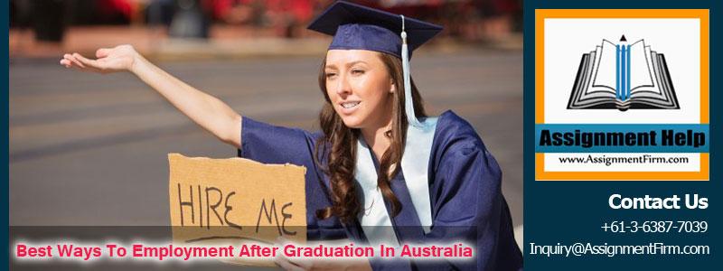 Employment After Graduation in Australia