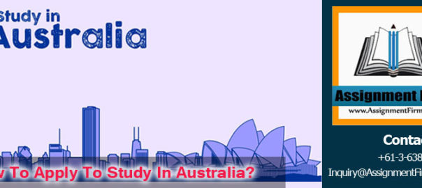 Apply To Study In Australia