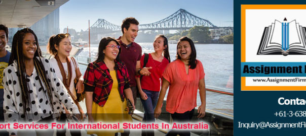 Support Services For International Student