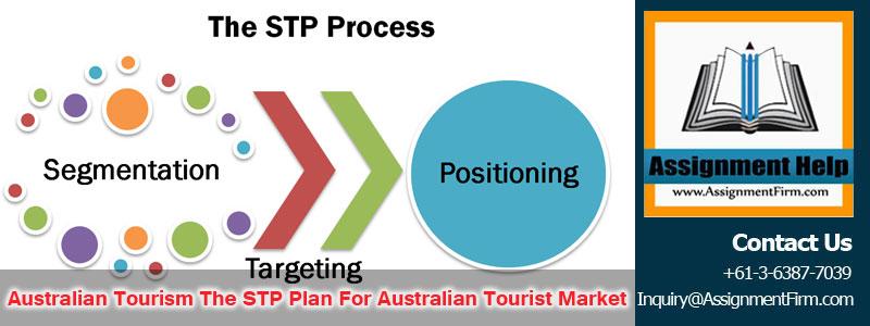Australian Tourism - The STP Plan For Australian Tourist Market