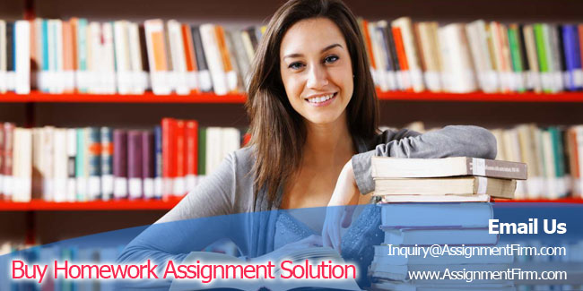 Buy Homework Assignment Solution1