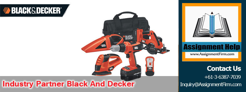 Industry Partner Black And Decker