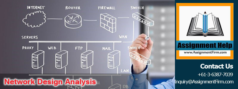 Network design analysis based on organisation size & business