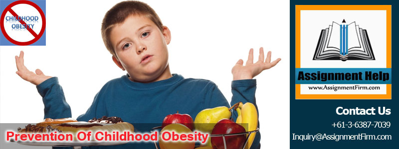 Excellent Report On Prevention of Childhood Obesity In Australia