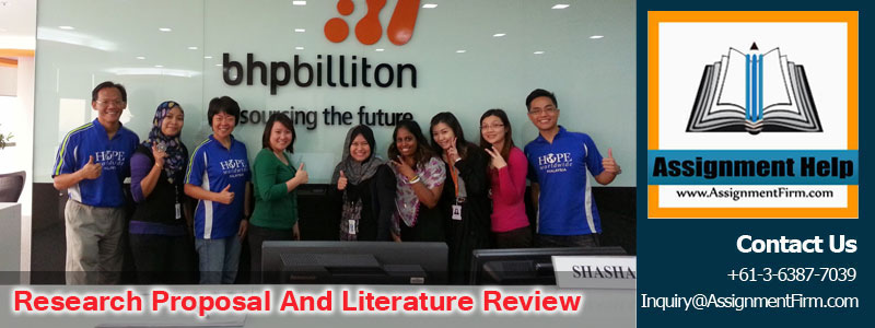 Research Proposal and Literature Review On BHP Billiton