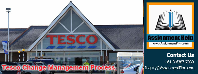 Tesco Change Management Process