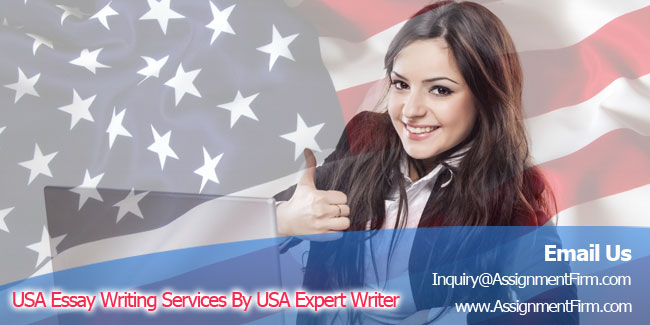 USA Essay Writing Services By USA Expert Writer