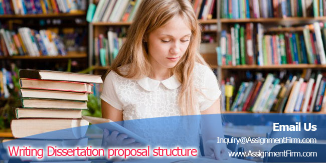 Writing Dissertation proposal structure topics