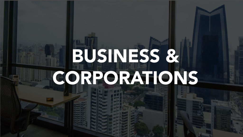 BUSL250 Business And Corporation Law