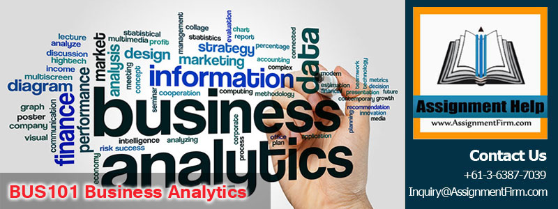 BUS101 Business Analytics