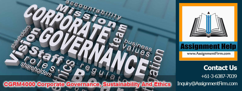 CGRM4000 Corporate Governance