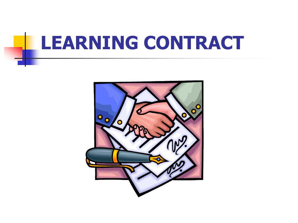 CNA 550 Learning contract Portfolio of evidence