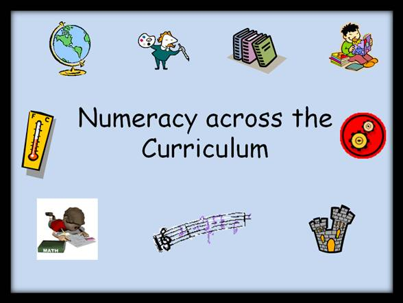 EDU80017 Essay Numeracy Across The Curriculum