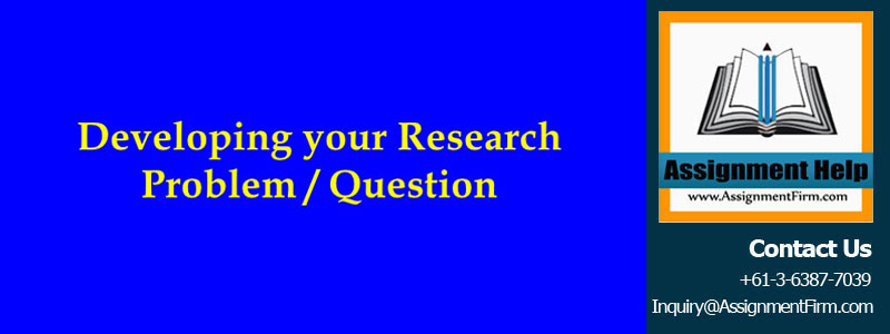 HLTH500 Developing A Research Question