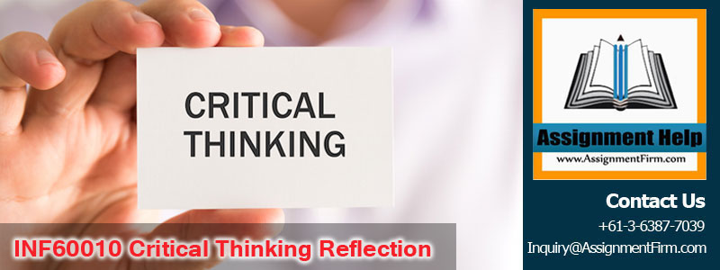 INF60010 Critical Thinking Reflection