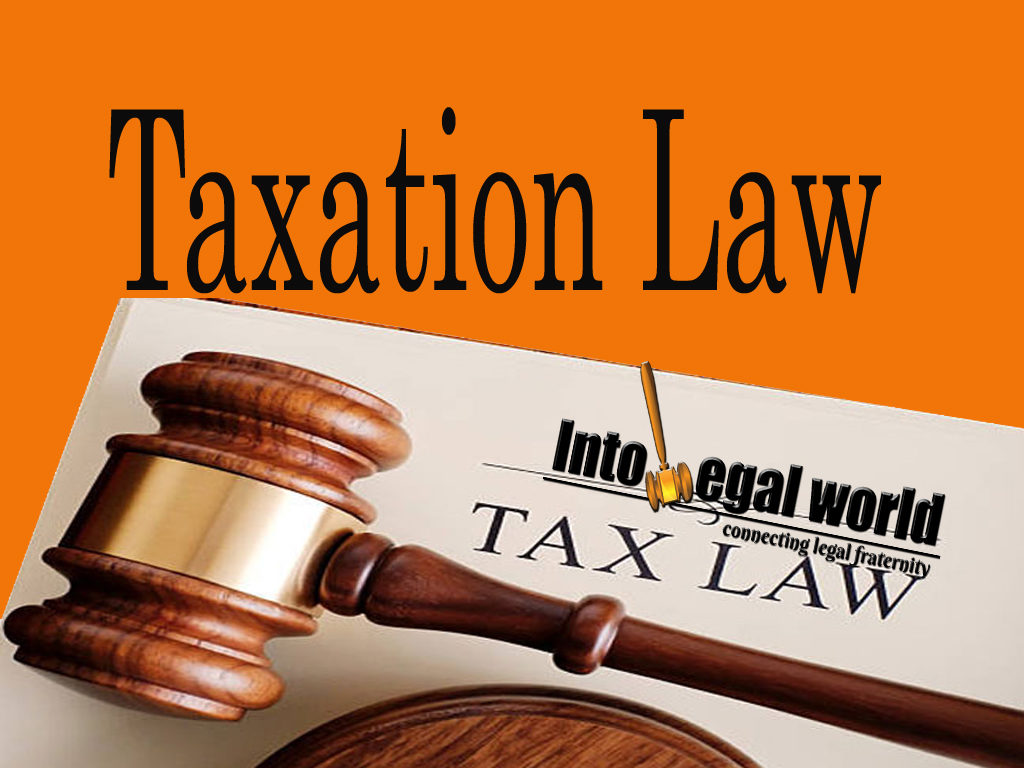 LEGL300 TAXATION LAW