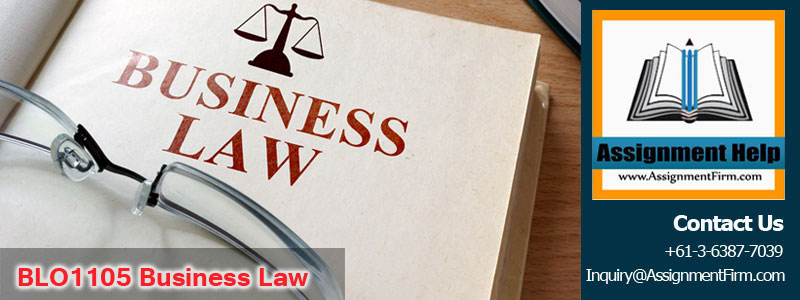 BLO1105 Business Law