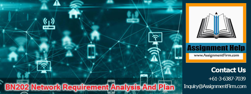 BN202 Network Requirement Analysis And Plan