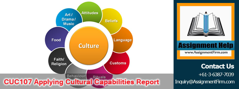 CUC107 Applying Cultural Capabilities Report