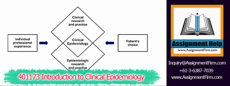 401173 Introduction to Clinical Epidemiology