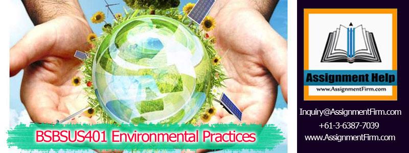 BSBSUS401 Environmental Practices
