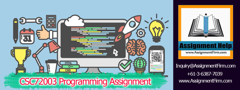 CSC72003 Programming Assignment