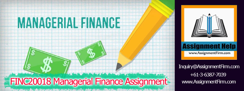 FINC20018 Managerial Finance