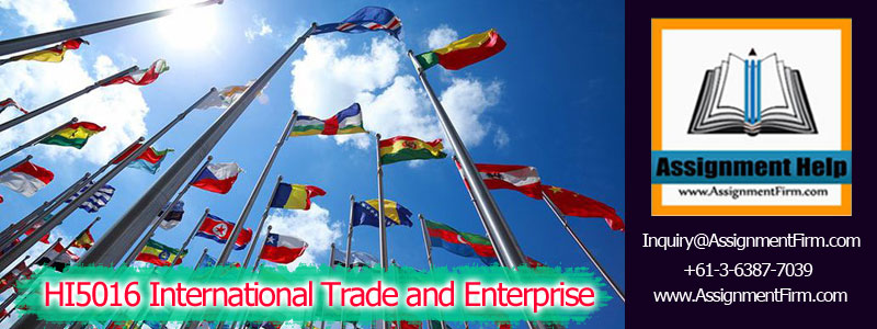 HI5016 International Trade and Enterprise