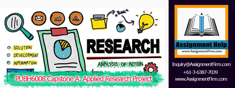 PUBH6008 Capstone A-Applied Research Project