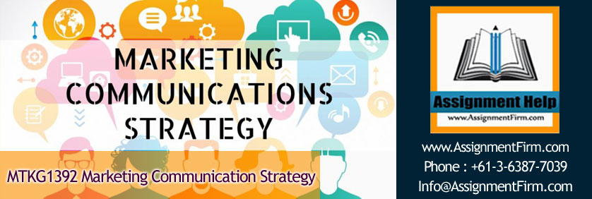 MTKG1392 Marketing Communication Strategy