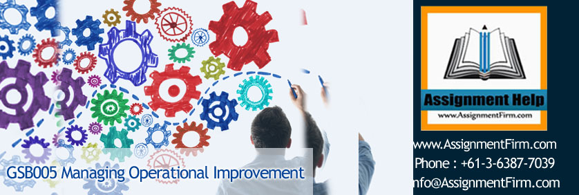 GSB005 Managing Operational Improvement