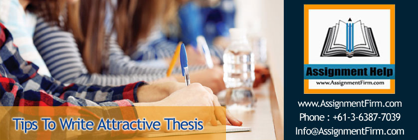 Tips On Writing Thesis
